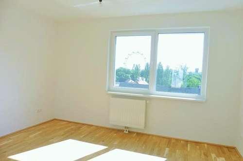 Moderne 2-Zimmer-Neubauwohnung mit großer Loggia (Nähe 1.Bezirk)