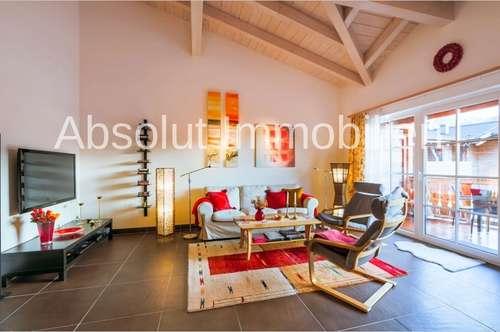 Besondere Gelegenheit! Attraktives Penthouse, ca. 87 m² Wfl., in schöner u. zentraler Lage in Kaprun