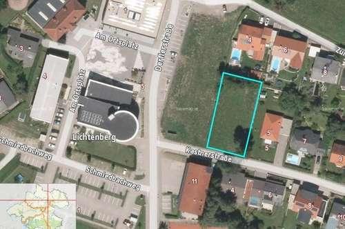 Grundstück  in Zentrumsnähe Lichtenberg