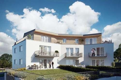 Neu gebaut! Traumhaft und exclusiv Wohnen im Grünen und doch nahe der Stadt!