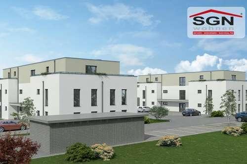 Erstbezug:geförderte 4-Zimmer Wohnung inkl. Balkon und Parkplatz
