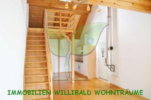 Sensationelle Ruhelage - 1 Zimmer Wohnung mit Atelier