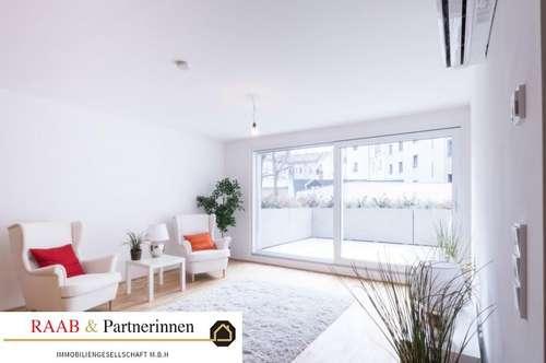 großzügige 3-Zimmer-Wohnung mit großer Terrasse - auch als Büro nutzbar!