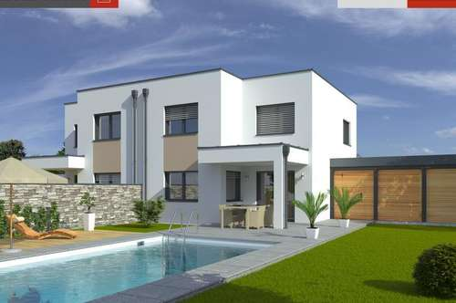 Ihr modernes Doppelhaus 01 in BAD HALL