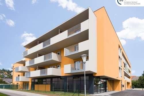 Neuwertige, sonnige 2 Zimmer Wohnung mit Balkon im 1. Obergeschoß - Kärntnerstraße 538/Graz-Seiersberg - Top 10