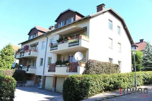 IDYLLISCH-GRÜN-RUHIG / Drei-Zimmer Wohnung mit wunderschönem Ausblick