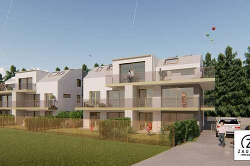 Neubau: 2-Zi.-Gartenwohnung in Hallwang/Mayrwies