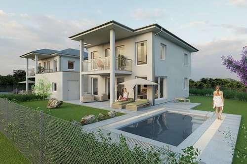 Luxuriöses Neubauprojekt inkl. 55m2 Wohnkeller,Sauna, Pool, Klimaanlage, Garage uvm.