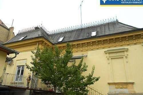 Historisches Eckhaus mit drei Fremdenzimmern. Gefühlvoll restauriert.