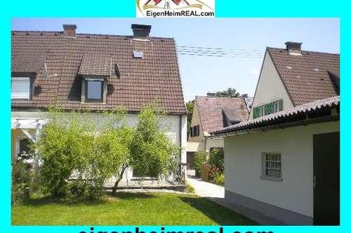 Doppelhaus-Hälfte, renoviert, mit schönem Garten, zu vermieten!