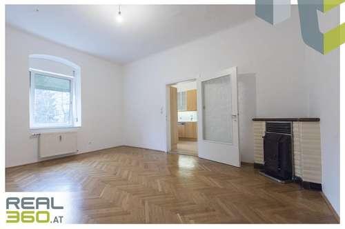 Altbauwohnung mit 3 Zimmer, möblierter Küche und Balkon in den sonnigen Innenhof zu vermieten!