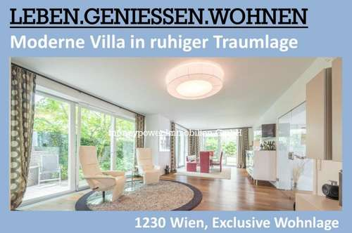 MODERNE VILLA IN RUHIGER, EXCLUSIVER TRAUMLAGE