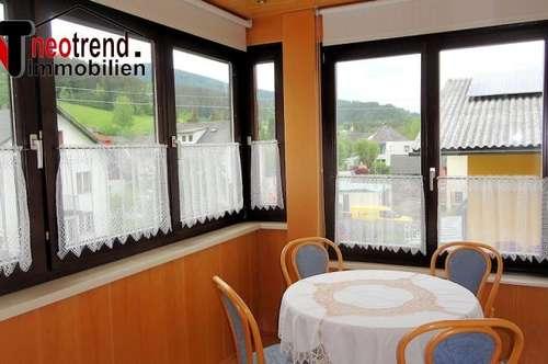 Wohnungseigentum zu Spitzenpreis mit sonnigem Wintergarten in Weitensfeld nähe Freibad!
