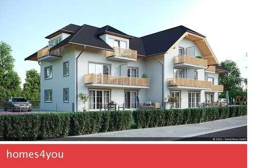 Weiser Leben in Großgmain: 3 Zimmer Gartenwohnung!