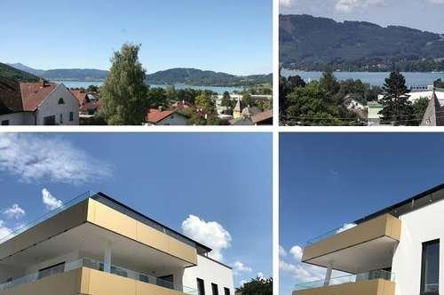 Wohntraum mit südwestseitiger Terrasse + Blick am Attersee - SEERESIDENZ SCHÖRFLING