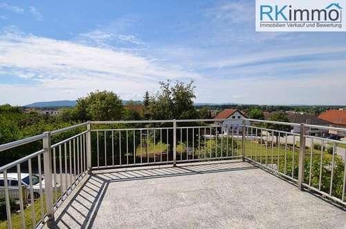 Stockerau MIETE – Haushälfte, Wohneinheit im 1 Stock mit Gartenanteil FERNBLICK