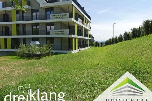 Ihr 230m² - Garten wartet bereits auf Sie! 4 Zimmer Neubauwohnung am Pöstlingberg!
