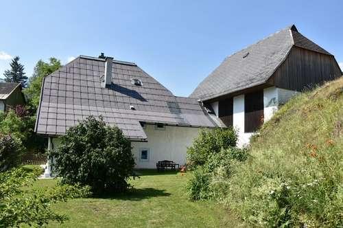 Altes, umgebautes Bauernhaus mit Nebengebäude, Ortsverband Kötschach-Mauthen