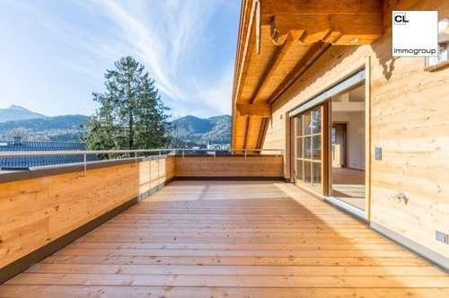 Exquisite Dachterrassenwohnung mit Blick über die Dächer von Fuschl am See