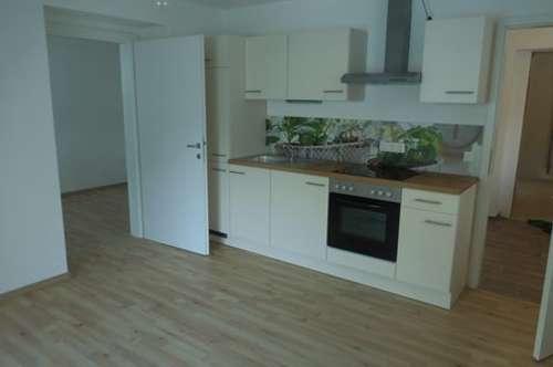 Neu adaptierte Kleinwohnung für Singels im Erdgeschoss eines Mehrfamilienwohnhauses mit 5 WE