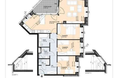 Dachgeschoss-Wohnen am Rathausplatz-Miete
