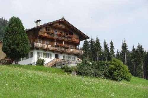 Wohnung in einem Bergbauernhof, schöne, ruhige Lage