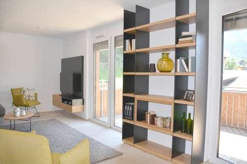 Koffer packen und einziehen - möblierte 2-Zimmer-Wohnung mit großem Balkon