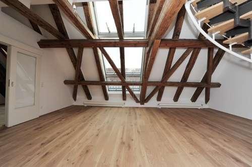 Repräsentative Maisonette-Dachgeschoßwohnung, 5 Zimmer, Air-conditioned