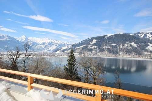 5700 Zell am See / Erlberg:die Gelegenheit !! 73 m² Garten Wohnung / vollmöbliert / 2 Parkplätze / Ruhelage / Seeblick !