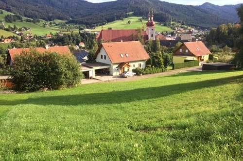 Über den Dächern von St. Lambrecht