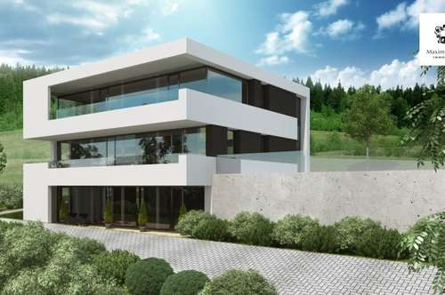 Moderne Penthouse-Wohnung mit atemberaubendem Ausblick