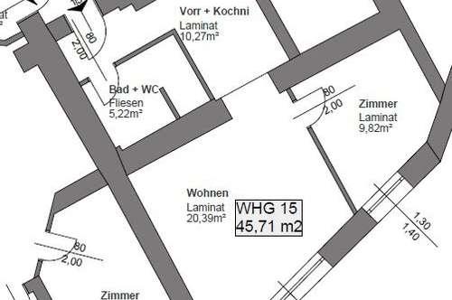 TOP Neubau-Mietwohnung nahe Traismauer