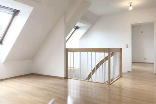 Hofseitige 3,5 Zimmer Dachgeschossmaisonette - zu mieten in 1170 Wien