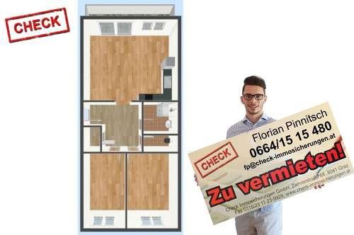 Schöne zentrale WG FÄHIGE Wohnung in St. Leonhard Nähe Gymnasium der Ursulinen!