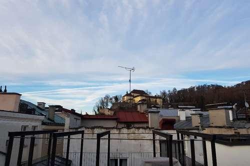 Salzburg-Altstadt: Tolle 4-Zi.-Whg. mit Dachterrasse  am Alten Markt