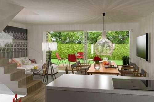 EIGENGRUND, 0% provisionsfrei !! FERTIGES REIHENHAUS mit Garten, belagsfertig, absolute Grün-Ruhelage, 1 Stellplatz, Ziegelmassivbauweise