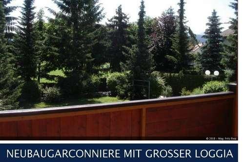 Klagenfurt - NEUBAUGARCONNIERE MIT GROSSER LOGGIA
