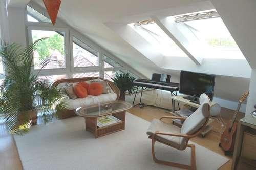 Salzburg: Attraktive 3-4 Zimmer-Dachgeschoss-Wohnung an der Hellbrunner Allee