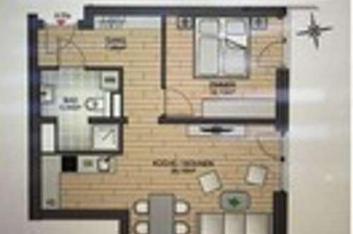 NEU! 2-Zimmer-Wohnung im Zentrum von Privat