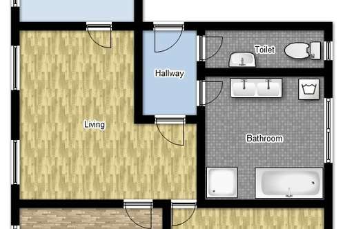 Wohnen im Stadtzentrum - 85m² (renoviert!)