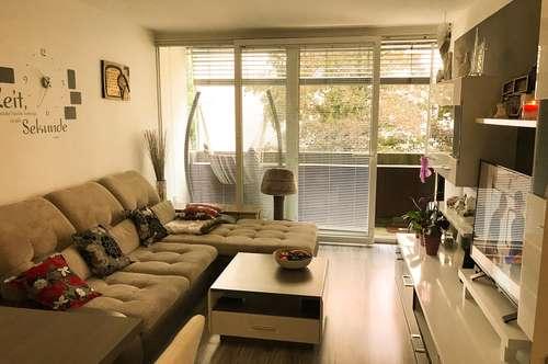 -  PROVISIONSFREI  |  Sehr schön geschnittene 2-Zimmer-Wohnung mit großem Balkon in ruhiger Citylage  -