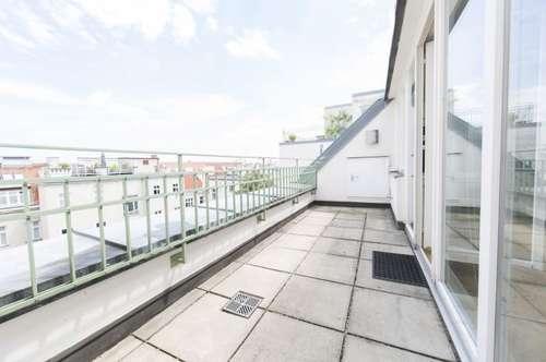 2-Zimmer DG-Wohnung mit traumhafter Terrasse in 1030 Wien zu mieten!