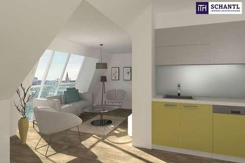 WOW! Future Living im Dachgeschoss + Ideale Raumaufteilung + Tolle Infrastruktur + Hofseitige Terrasse! Worauf warten Sie?