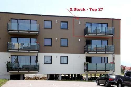 Neuwertige EGT-Wohnung mit Superausblick