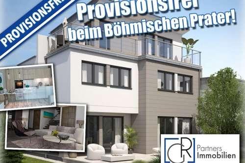 Provisionsfreie Doppelhaushälfte auf Eigengrund beim Böhmischen Prater!