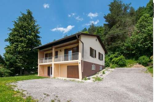 Nettes Wohnhaus in herrlicher, ruhiger Waldrandlage in Südkärnten