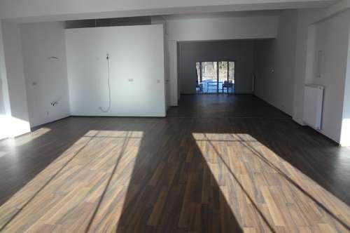 100 m² barrierefreies Loft mit Terrasse