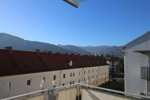 Sonnige Zweizimmerwohnung mit Küche & schönem Balkon mit toller Aussicht - provisionsfrei!