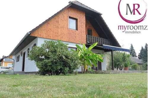 Großgesinntes Einfamilienhaus in ruhiger aber zentraler Wohnsiedlung in Kaindorf an der Sulm