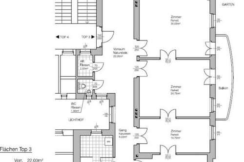 Sanierte Jugendstil-Wohnung in Bestlage in Gersthof - Unbefristete Miete in 1180 Wien